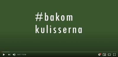 Film bakom kulisserna medPeter Oskarson