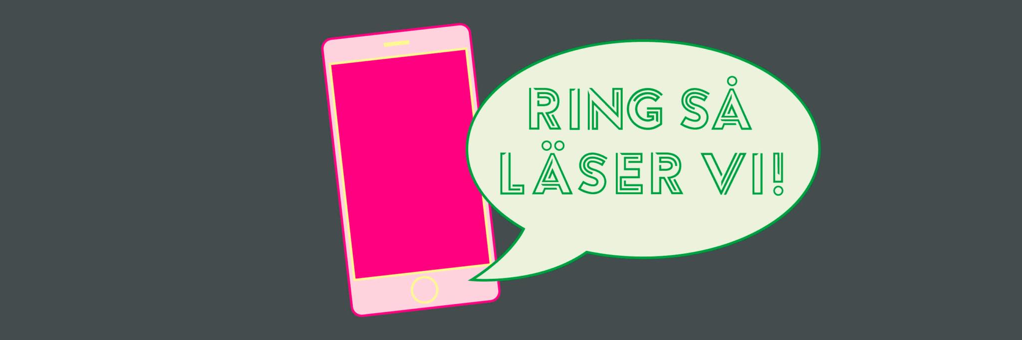 Nu återupptar vi vårens populära distansmöte Ring så läser vi!